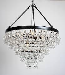heidi rustic wroght iron 8 light 4 trays glass crystal chandelier 24 wx 24