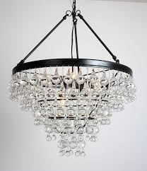 heidi rustic wroght iron 8 light 4 trays glass crystal chandelier 24 wx 24