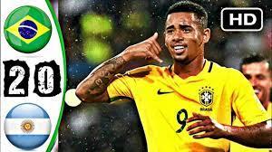 ملخص مباراة البرازيل والأرجننتين 2-0 _ تعليق الشوالي - YouTube