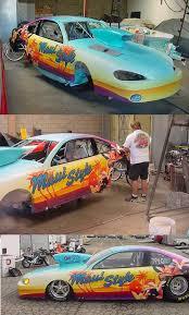Car Paint Job Design Software Drag Racing Paint Schemes And Award Winning Graphic Design