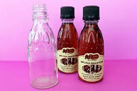 Decorative Pepper Bottles Use cleaned out cracker barrel syrup bottles for saltpepper 39