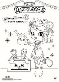 Ballett Shopkins Shoppies Coloring Page Special Edition Free