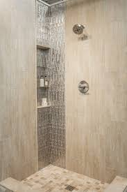 Bathroom : Showers Without Glass With Tiled Shower Ideas Walk