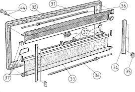 Seitz Teilesatz S3s4 Fenster Grau Von Dometic Seitz Ersatzteile