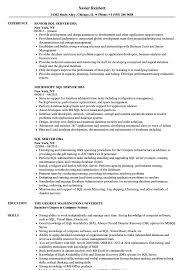Sql Server Experience Resumes Sql Server Dba Resume Samples Velvet Jobs