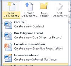 Sharepoint 2010 Library Template List Add New Document Templates To A Library Sharepoint Stack
