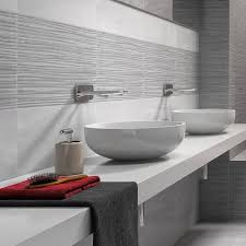 feature wall tiles grey patterned