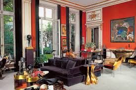 recreate a glamorous 1970s parisian living room