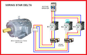 star delta motor wiring diagram wirdig