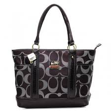 Coach Madison In Signature Large Coffee Totes ANF
