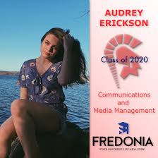"Southwestern CSD on Twitter: ""Class of 2020's AUDREY ERICKSON plans to  study communications and media management at @FredoniaU. #TeamSouthwestern  #OnceATrojanAlwaysATrojan @MoDonahue @coopsscoop79 @MatthewKindberg…  https://t.co/BVh4UrUvgf"""