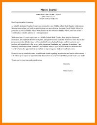 11 Teachers Resume Cover Letter Job Apply Form