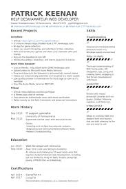 It Support Resume Samples Visualcv Resume Samples Database