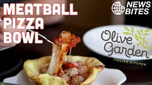 new olive garden meatball pizza bowl is insane news bites