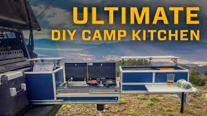Ultimate Diy Camp Kitchen Youtube