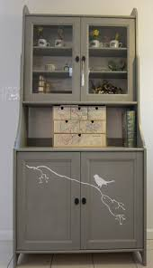 A Hutch cabinet for the kitchen nook