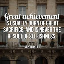 Quotes About Sacrifice Magnificent 48 Top Sacrifice Quotes Sayings
