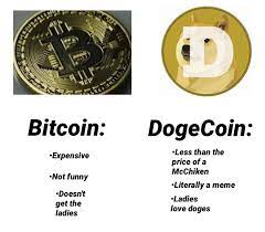 Much of the hype surrounding dogecoin can. Bitcoin Vs Dogecoin Dogecoin