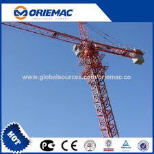 Tower Crane Lifting Capacity Chart China Tower Cranes Tower Crane With 6 Ton Max Load Tower