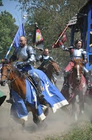 roundtable ions brings joust horses to the michigan renaissance festival