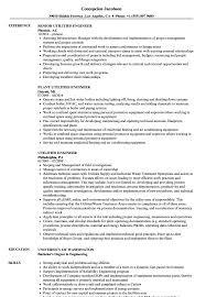 Utilities Engineer Resume Samples Velvet Jobs