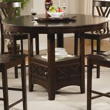 furniture charming counter height table with storage for dining collection of solutions bar height round dining table