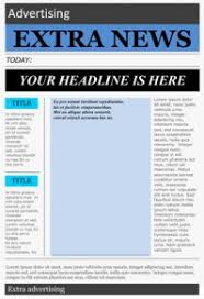 Basic Newspaper Template Wonderful Free Templates To Create Newspapers For Your Class