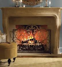 this new year s eve make your living room sparkle with an elegant fireplace screen that s