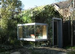 this quaint cozy and well protected garden office is the perfect place to recollect your thoughts and get some work done in peace available as a diy kit build garden office kit