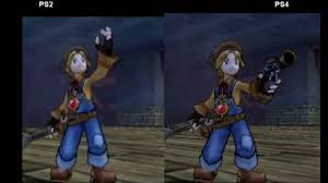 Dark Cloud 2 Weapon Chart Dark Chronicle Dark Cloud 2 Ps2 Vs Ps4 Graphics Comparison