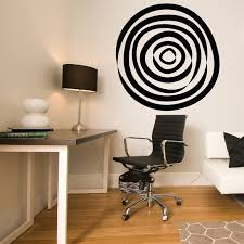 Small Picture Abstract Circle Vinyl Wall Decal