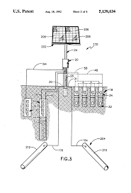 patente us5139634 method of use of dual bed cathodic protection patent drawing