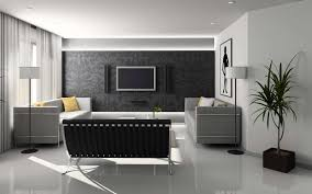 home decoration uncategorized exciting home interior design ideas equipped good looking grey walpaper behind wall mounted tv and astonishing fabric astonishing home interior decor