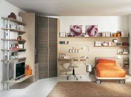 Simple Kids Bedroom Large Kids Bedroom With Corner Cabinet Orange Cover Be And Orange