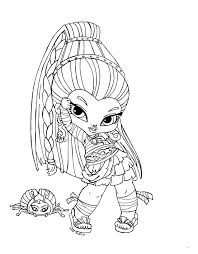 Small Picture Monster High Baby Coloring Pages Baby Nefera De Nile Coloring