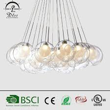 China 2017hotsale LED <b>Modern Glass Ball</b> Suspended <b>Pendant</b> ...