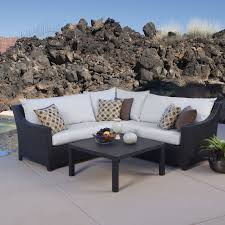 moroccan garden furniture. RST Brands Deco 4-piece Corner Sectional Set With Moroccan Cream Cushions - Free Shipping Today Overstock 17310227 Garden Furniture F