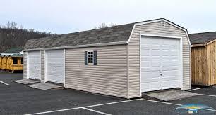1-Car Prefab Garage | One Car Garage Shed | Horizon Structures