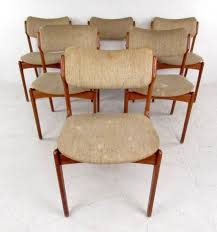 mid century dining set with table and chairs by skovby and o d