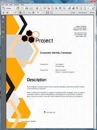 Tv Commercial Proposal Sample View Corporate Identity Creation Proposal Branding Marketing