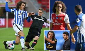 In the transfer market, the current estimated value of the player randal kolo muani is 275 000 €, which exceeds the weighted average market price of. Matteo Guendouzi Was Frozen Out At Arsenal By Mikel Arteta But Looks Revitalised At Hertha Berlin Daily Mail Online