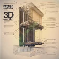 architecture blueprints 3d. Architectural Presentation Architecture Blueprints 3d