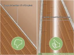 image titled install vinyl plank flooring on concrete step 12