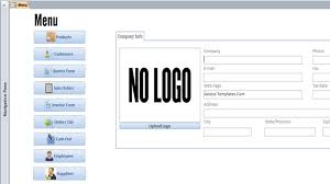 Access Order Form Template Microsoft Access Templates And Database Examples