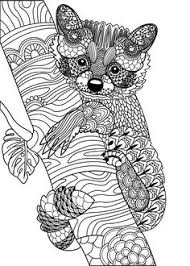 824 Best Animal Coloring Pages For Adults Images In 2019 Coloring