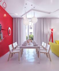 Red Wall Dining Room Ideas  FlodingResortcom - Dining room red paint ideas