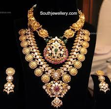 Kasulaperu Earrings Designs Ram Lakshman Kasulaperu Necklace Jewelry Design Bridal
