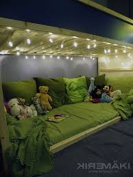 bunk bed lighting. Bry Has This Bed But Just Use The Space Under For Storage.. Might Convert Bunk Lighting M