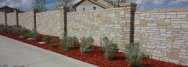 Small Picture Concrete Block Fence StoneTree Concrete Fence System
