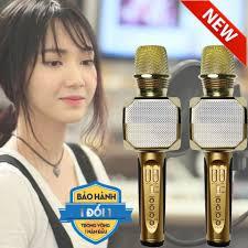 dọn kho xả ] loa karaoke hàng n.hật mini, micro kèm loa,mic hát cầm tay -  loa bluetooth karaoke sdrd sd-301 kèm 2 mic không dây, loa karaoke xách tay  di